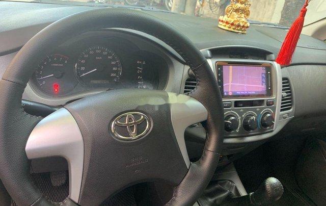 Bán Toyota Innova năm sản xuất 2013, màu vàng cát, giá 380tr10