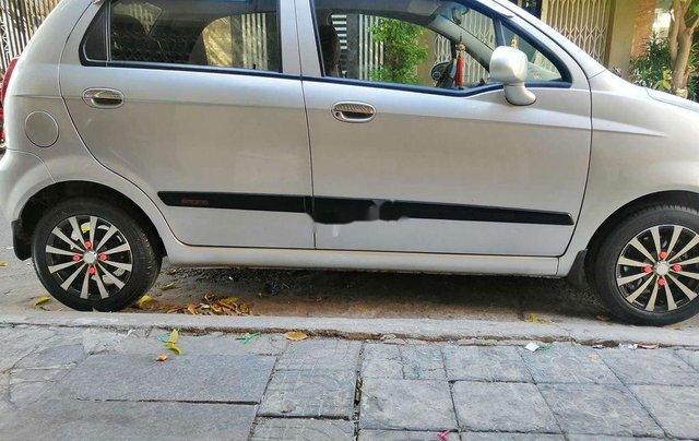 Bán Chevrolet Spark đời 2009, màu bạc, số tự động, giá tốt2