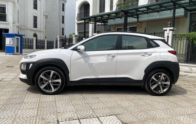 Bán Hyundai Kona đời 2018, màu trắng, giá 658tr6
