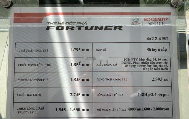 Bán ô tô Toyota Fortuner đời 2020, màu đen, mới hoàn toàn11