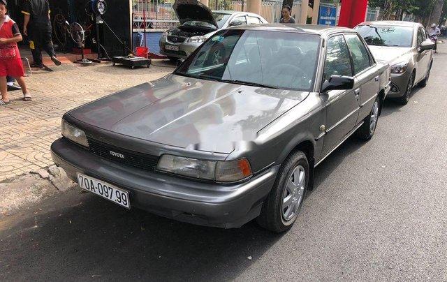 Bán Toyota Camry đời 1987, màu xám, nhập khẩu, chạy rất êm4