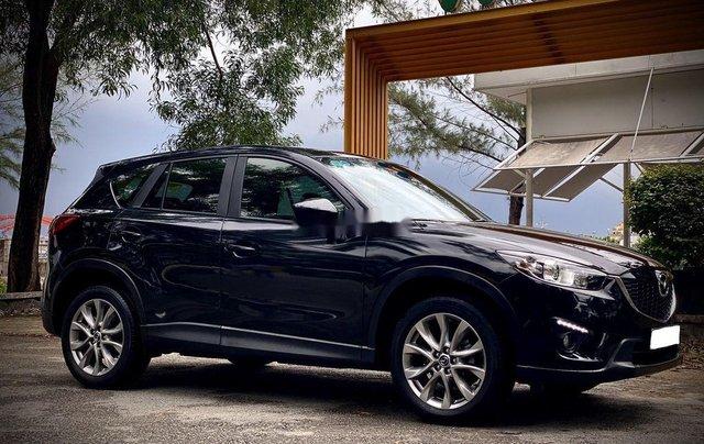 Bán Mazda CX 5 đời 2015, màu đen, giá tốt8