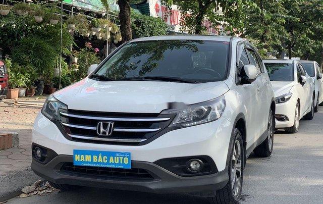 Chính chủ bán ô tô Honda CR V 2014, màu trắng1