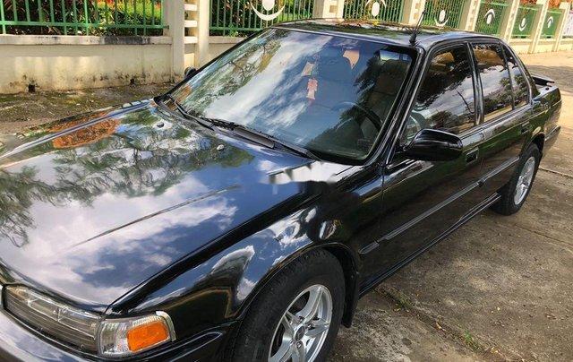 Bán Honda Accord năm sản xuất 1991, màu đen, nhập khẩu, tiết kiệm xăng1
