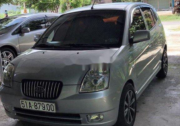 Cần bán lại xe Kia Morning 2004, màu bạc, xe nhập 0