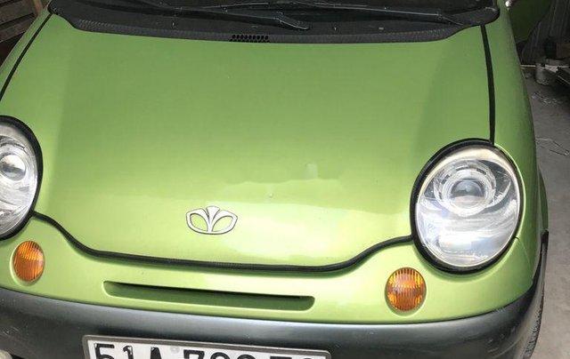 Bán xe Daewoo Matiz năm 2005, màu xanh cốm5