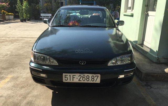 Bán Toyota Camry V6 3.0 MT 1992, màu xanh0