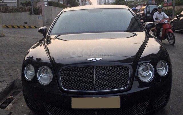 Chính chủ bán Bentley Continental Speed W12 dung tích 6.0L, vin 2009, màu đen nội thất kem, bản 4 chỗ siêu sang trọng0