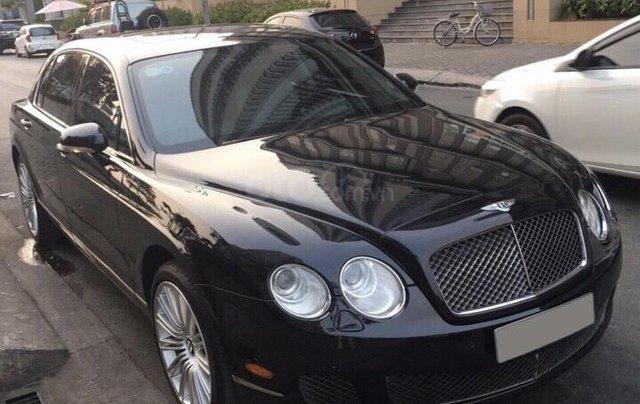 Chính chủ bán Bentley Continental Speed W12 dung tích 6.0L, vin 2009, màu đen nội thất kem, bản 4 chỗ siêu sang trọng1