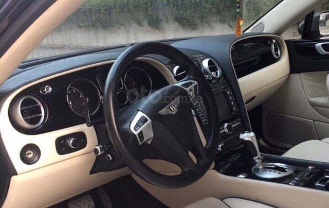 Chính chủ bán Bentley Continental Speed W12 dung tích 6.0L, vin 2009, màu đen nội thất kem, bản 4 chỗ siêu sang trọng3