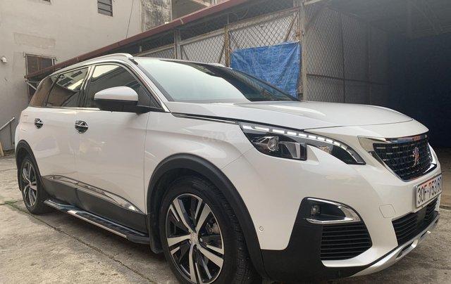 Bán xe Peugeot 5008 full 2020, màu trắng0