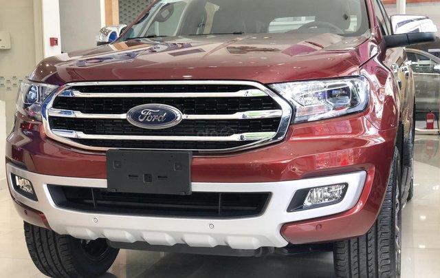 Ford Everest Bi-Turbo 2020 giảm 90tr tiền mặt + PK chính hãng, đủ màu giao ngay tận nơi0