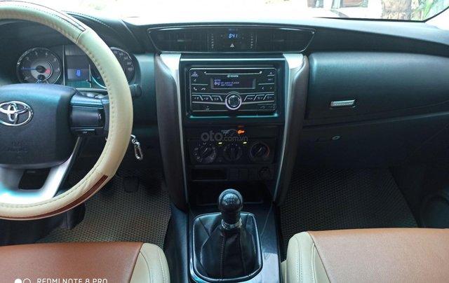 Bán xe Toyota Fortuner đời 2017, màu bạc, còn mới, giá tốt 879 triệu đồng2