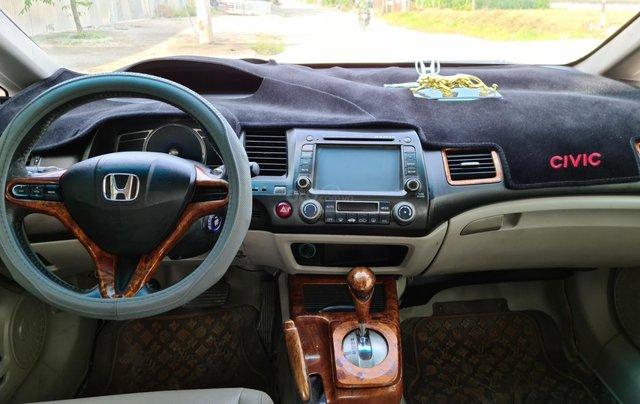 Xe Honda Civic đăng ký 2007, màu đen, ít sử dụng, giá 265 triệu đồng1