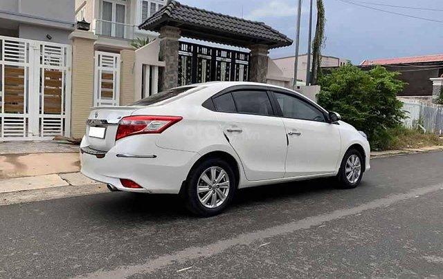 Bán ô tô Toyota Vios 1.5E sản xuất năm 2017, màu trắng còn mới, giá 383tr2