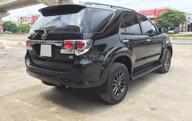 Xe Toyota Fortuner 2.5G máy dầu, sản xuất 20152