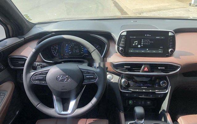 Bán Hyundai Santa Fe năm 2020, màu nâu, máy dầu cao cấp10