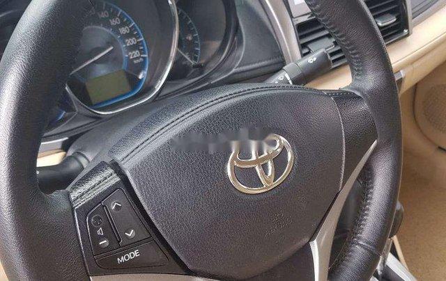 Bán xe Toyota Vios năm sản xuất 2017, màu bạc6