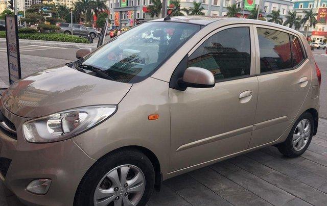 Bán Hyundai Grand i10 sản xuất năm 2011, màu vàng, nhập khẩu, 225 triệu0