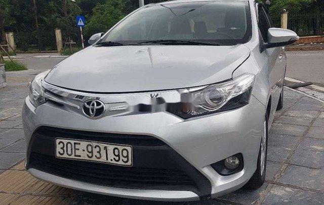 Bán xe Toyota Vios năm sản xuất 2017, màu bạc2