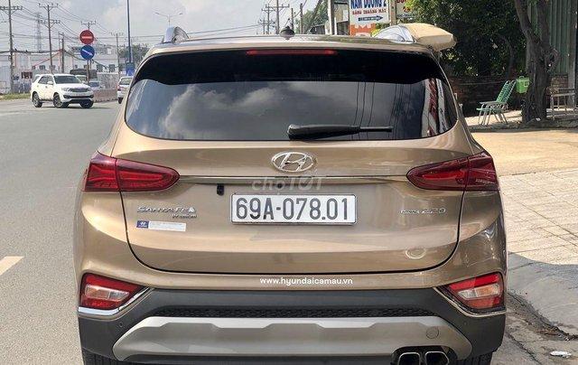 Bán Hyundai Santa Fe năm 2020, màu nâu, máy dầu cao cấp5