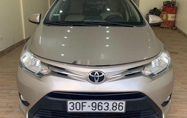 Bán Toyota Vios sản xuất năm 2016, máy mới chạy 5 vạn km0
