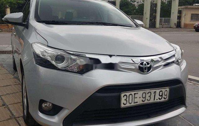 Bán xe Toyota Vios năm sản xuất 2017, màu bạc0