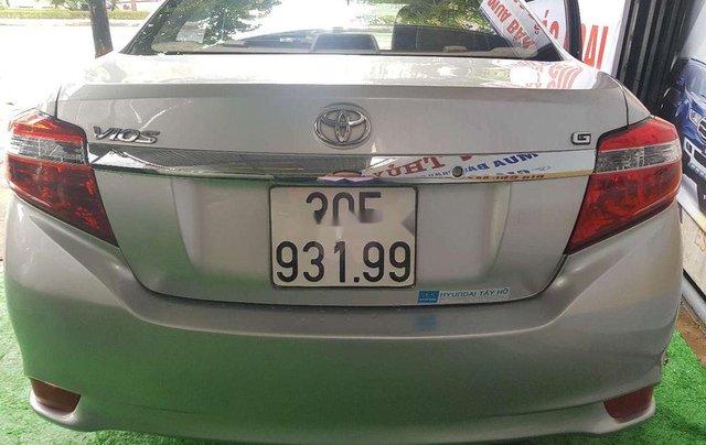 Bán xe Toyota Vios năm sản xuất 2017, màu bạc1