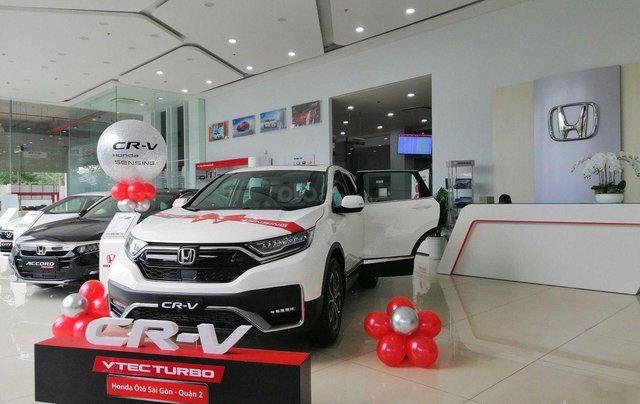 [Cực hot] Honda CRV Facelift 2020 giảm 100% thuế trước bạ0