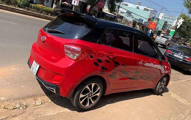 Cần bán lại xe Hyundai Grand i10 1.0 MT Base sản xuất năm 2014, màu đỏ 3