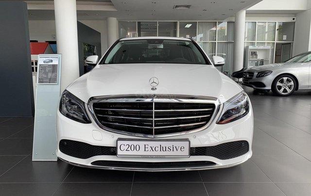 Mercedes C200 Exclusive trẻ trung - Năng động, xe sang giá tốt - Ưu đãi thuế0