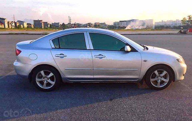 Cần bán Mazda 3 2004, màu bạc, nhập khẩu nguyên chiếc còn mới0