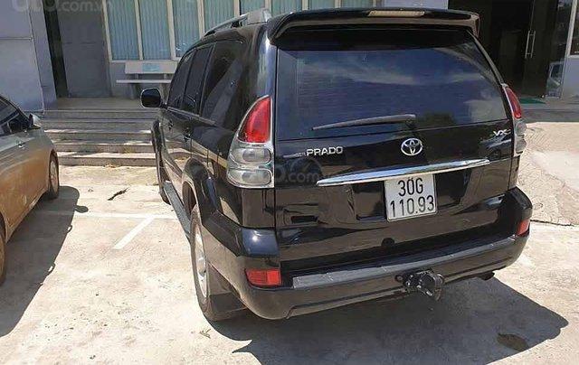 Bán ô tô Toyota Prado sản xuất 2007, màu đen, nhập khẩu còn mới 3