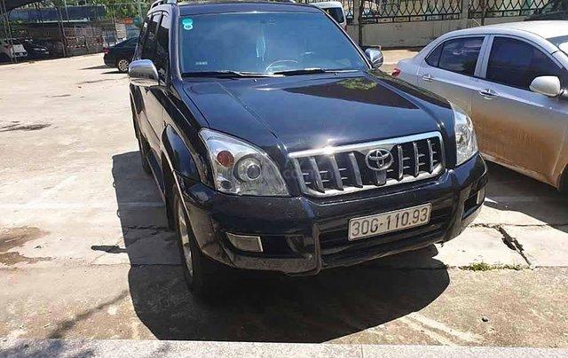 Bán ô tô Toyota Prado sản xuất 2007, màu đen, nhập khẩu còn mới 0