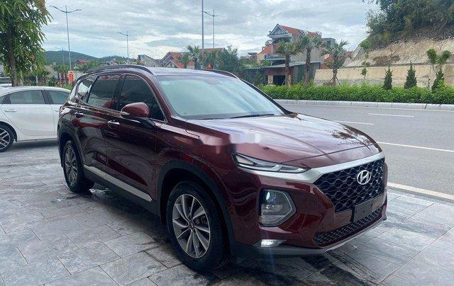 Bán Hyundai Santa Fe năm 2019, màu đỏ2