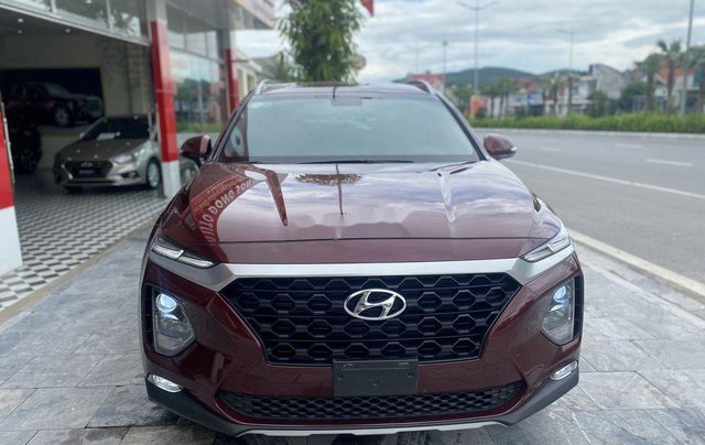 Bán Hyundai Santa Fe năm 2019, màu đỏ0