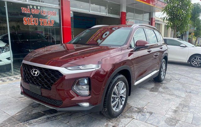 Bán Hyundai Santa Fe năm 2019, màu đỏ1