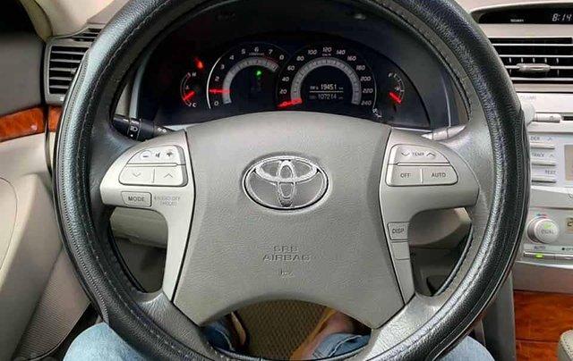 Bán Toyota Camry 2.4G đời 2008, màu đen còn mới  3