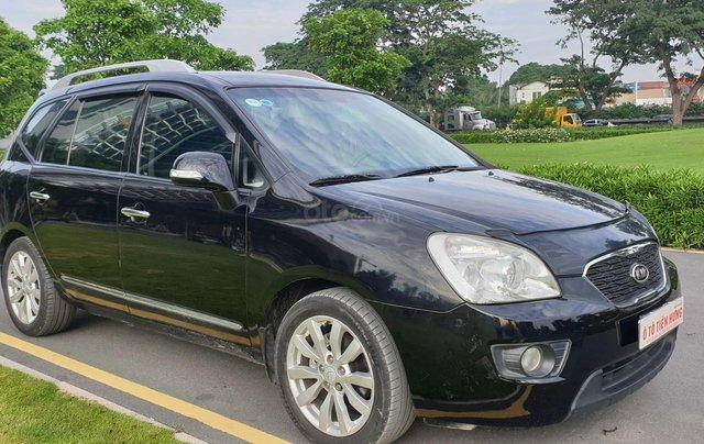 Bán Kia Carens SX số tự động, đời T3/2012, màu đen Vip tuyệt đẹp, mới 75%1