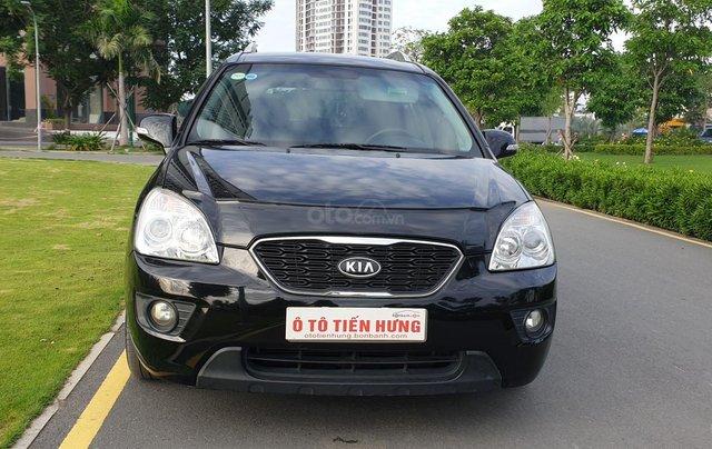Bán Kia Carens SX số tự động, đời T3/2012, màu đen Vip tuyệt đẹp, mới 75%2