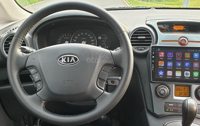 Bán Kia Carens SX số tự động, đời T3/2012, màu đen Vip tuyệt đẹp, mới 75%9