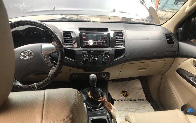 Toyota Fortuner SX 2014 máy dầu 2.5, xe đẹp, máy tươi, bán xe có bảo hành7