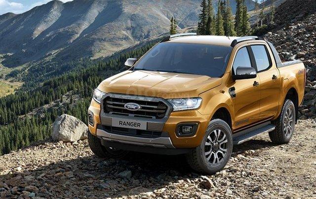 Giá hot Ford RangerWildtrak 2.0L 2020, hỗ trợ vay mua xe lên đến 85% giá trị xe, hỗ trợ lái thử, giao ngay3