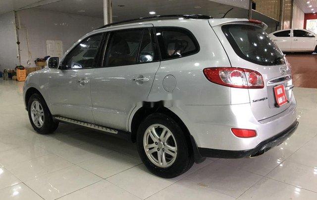 Bán xe Hyundai Santa Fe năm 2011, màu bạc, nhập khẩu  5