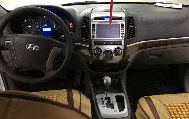 Bán xe Hyundai Santa Fe năm 2011, màu bạc, nhập khẩu  6