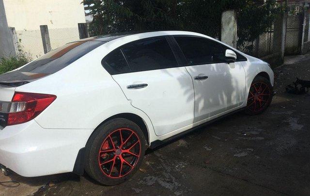 Bán xe Honda Civic 2015, màu trắng, nhập khẩu nguyên chiếc xe gia đình, giá tốt1