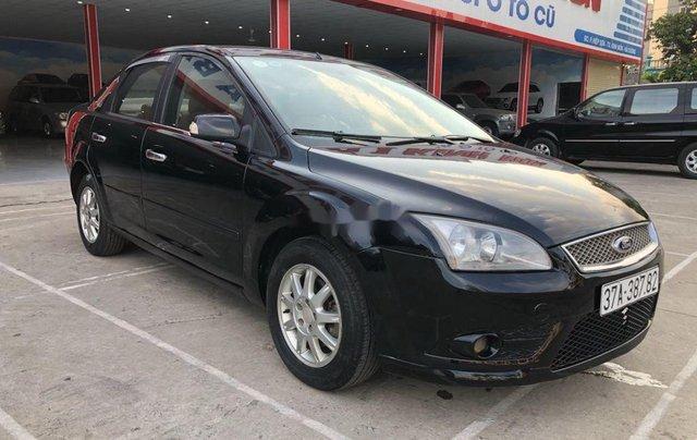 Cần bán Ford Focus sản xuất năm 2007, màu đen, nhập khẩu nguyên chiếc 1