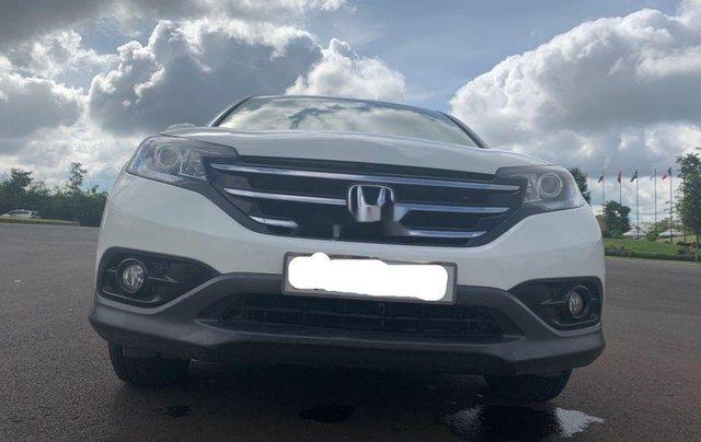 Bán Honda CR V đời 2013, màu trắng, 620 triệu1