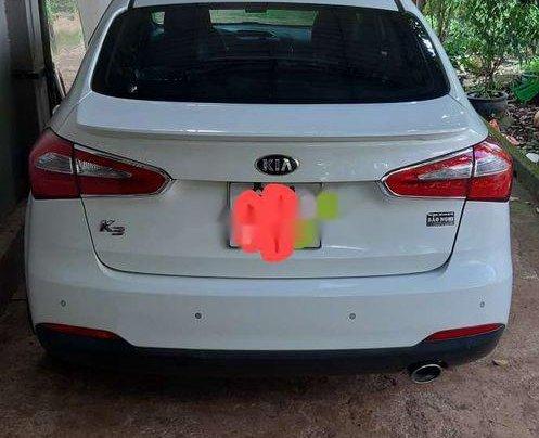 Bán xe Kia K3 1.6AT năm 2013, màu trắng, xe nhập1