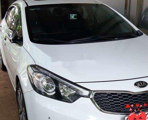 Bán xe Kia K3 1.6AT năm 2013, màu trắng, xe nhập2